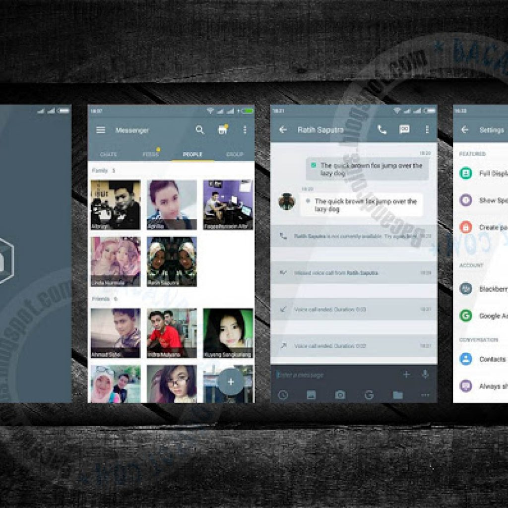 download BBM Mod Build Thema Gray UI Material Lock Mode