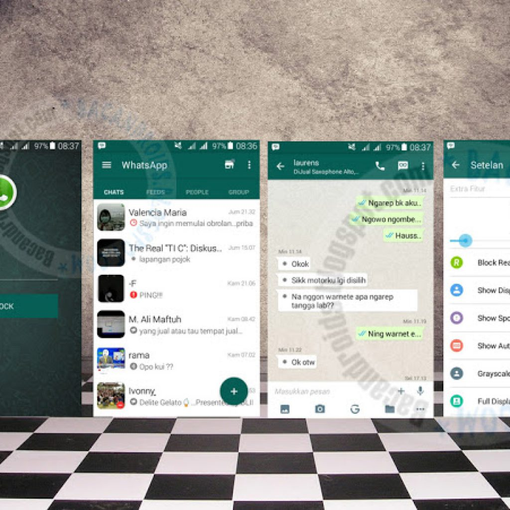 download BBM Dual Mod Tema New WhatsApp Versi 2.10.0.31