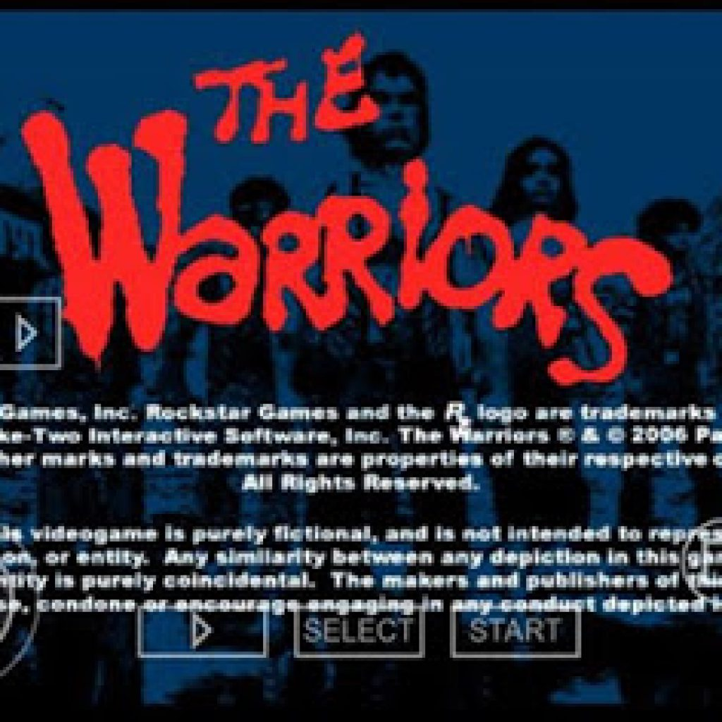 download Game PSP The Warriors ISO CSO For PPSSPP