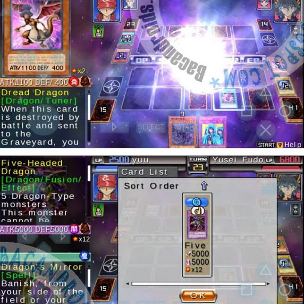 Yugioh 5Ds Tag Force 6 ISO For PPSSPP