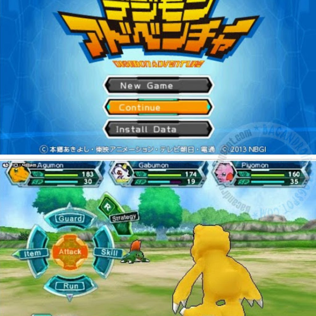 Game Digimon AdventureEmulator PPSSPP