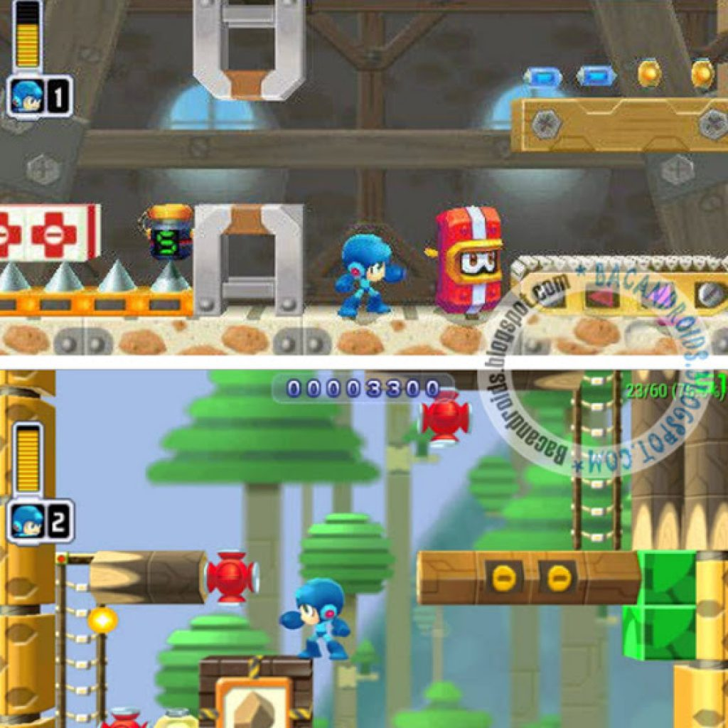 MegaMan Powered Up ISO PSP Android dan PC