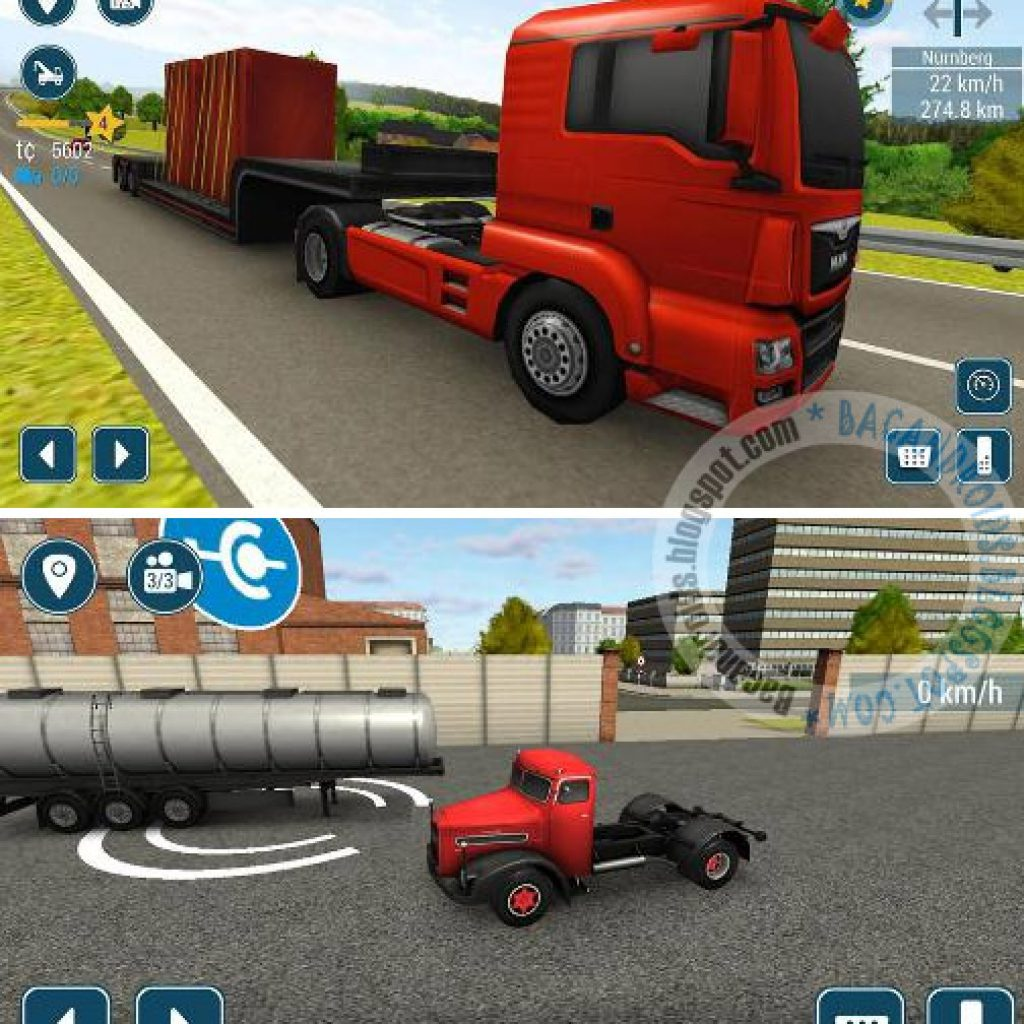 Free download Game simulasi Truk for android TruckSimulation 16 Mod APK+DATA