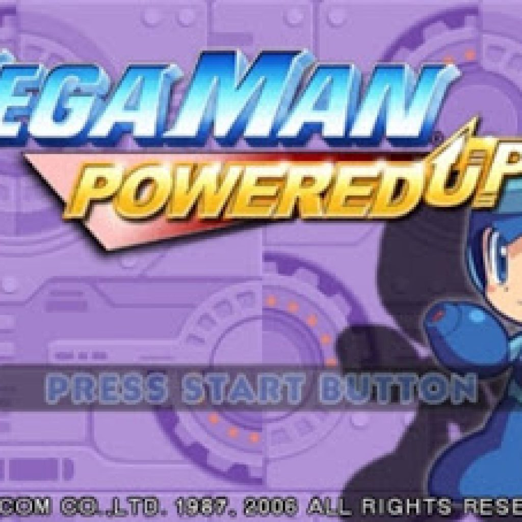 download Game MegaMan Powered Up ISO