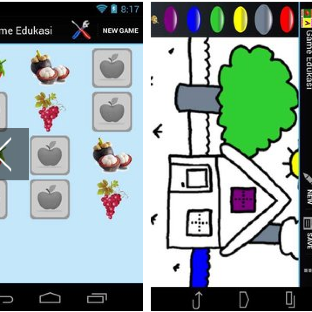 Screnshoot Game Edukasi Anak Lengkap APK