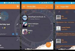 BBM MOD Terbaru Thema Orange Innovation Versi 2.9.0.51 Apk