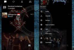 BBM Mod 2.10.0.31 Tema Metallica Terbaru Versi Clone