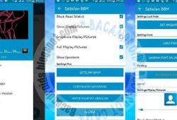 BBM ReDesign Mod Multi(BBM2+BBM3+BBM4) Clone Versi 2.10.0.35 Thema Standar