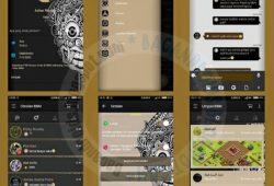 BBM Mod Thema Aksara Terbaru Versi 2.10.0.35 New