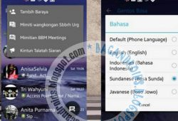 BBM Mod Thema GoRankPathTooth Versi 2.10.0.35 With Change Background