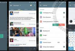 BBM Mod Tema Gray UI Messenger Versi 2.9.0.51 New