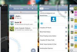 BBM Mod Terbaru Versi 2.11.0.16 Thema iOS 6 Apk