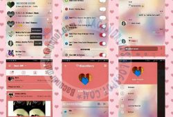 BBM Mod Thema Love Story Versi 2.10.0.31 Block Read