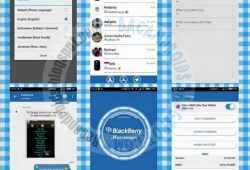 BBM Mod WP 2.10.0.35 Tema Blue Mix Terbaru With Animasi View