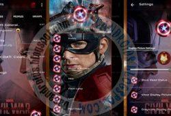 BBM Mod Terbaru Thema Captain America Versi 2.10.0.35 New