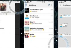 BBM Mod Tema Simple i-Phone Version 2.10.0.35 Apk