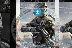 BBM Mod Thema Warface Terbaru Versi 2.10.0.35 Clone
