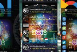 BBM WhatsApp Mod Tema Happy New Year 2016 Material Terbaru Versi 2.11.0.16 Clone