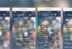 BBM Mod V 2.10.0.35 Thema Ralova Blur Versi Terbaru