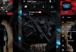 BBM Mod Clone Versi 2.10.0.35 Thema S.W.A.T Simple New