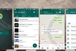 BBM Dual Mod Tema New WhatsApp Versi 2.10.0.31 Terbaru