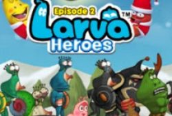 Larva Heroes 2 APK+DATA Mod Unlimited Gold dan Candy Terbaru