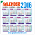 Download Kalender 2016 Masehi + Hijiriah GRATIS 100%