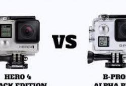 Perbandingan GoPro Hero 4 Black Edition VS B-Pro5 Alpha Plus