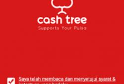 Cara Daftar dan Mendapatkan Pulsa Gratis dari Cashtree
