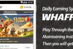 WHAFF Rewards 231 APK Gratis – Aplikasi Penghasil Uang for Android