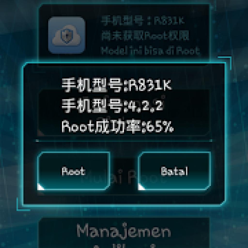 Cara Root Android dengan Key Master Root Apk