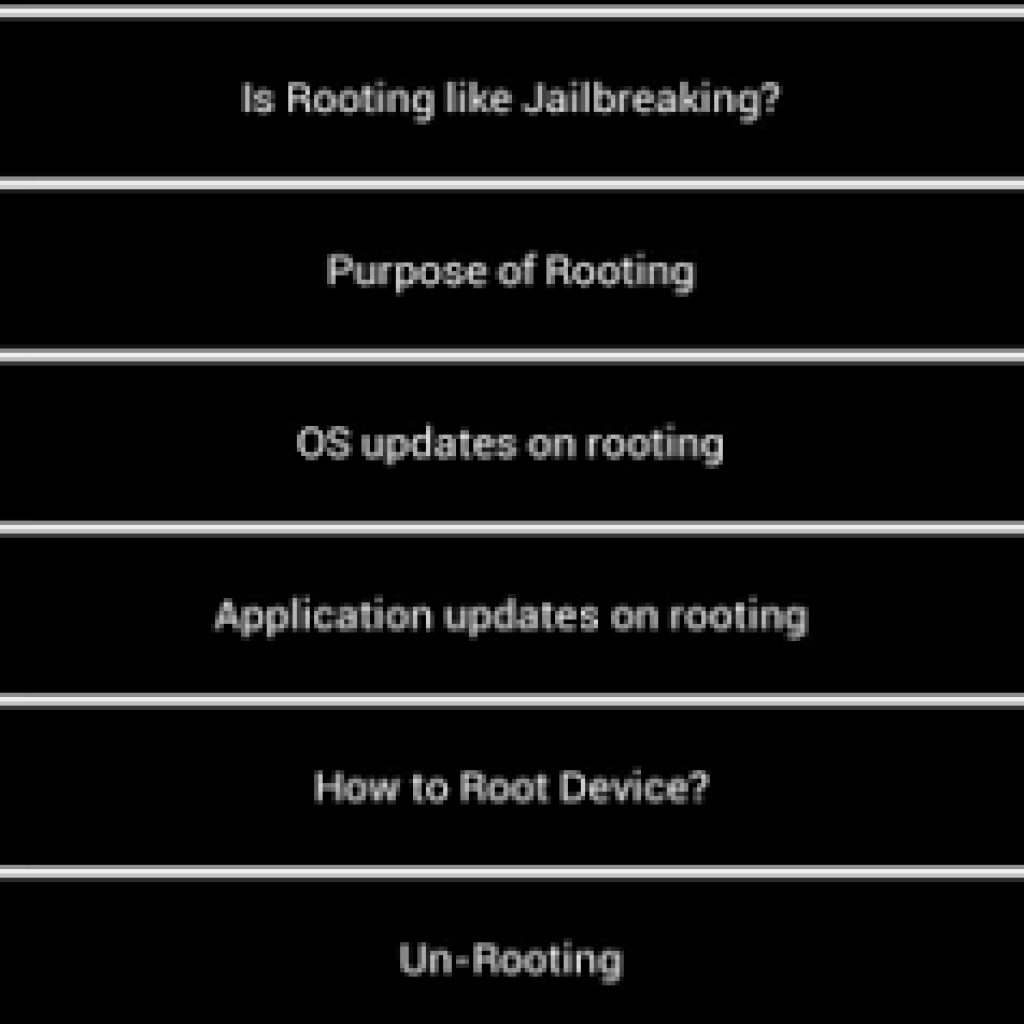 Rooting Guide 3