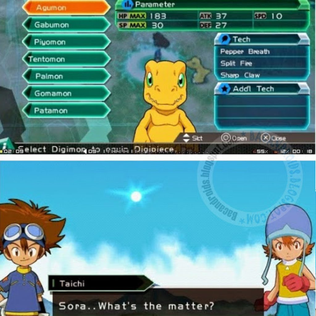 Game Digimon Adventure PPSSPP ISO Download