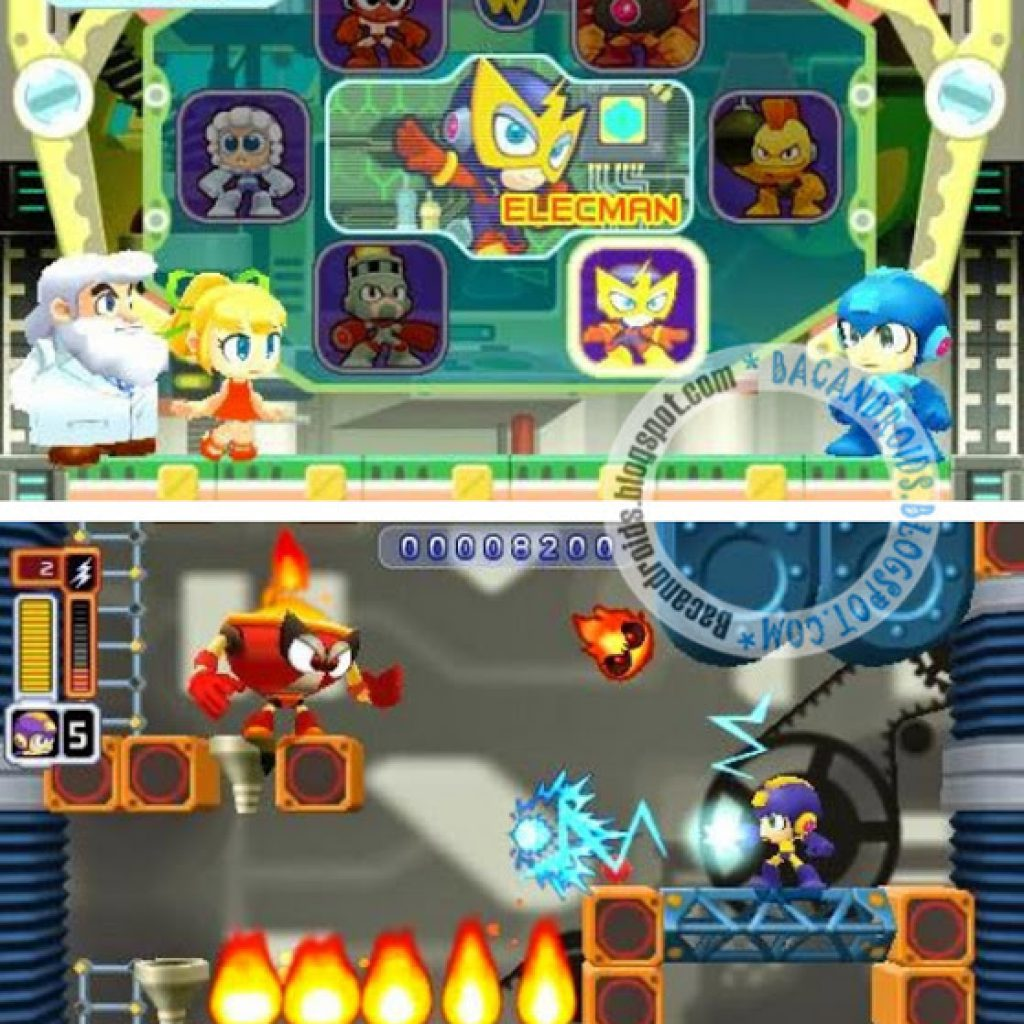 MegaMan ISO For PSP Android