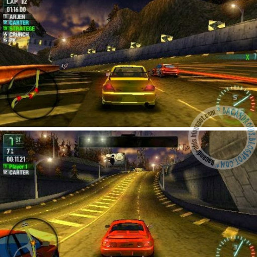 Need For Speed Carbon PSP CSO Android