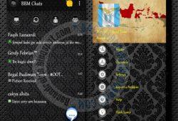 BBM2 Mod Thema Batik Dark Versi 2.10.0.31 Clone/Dual BBM