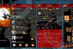 BBM Mod Thema Halloween Versi Terbaru 2.10.0.31 Apk