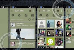 BBM Mod Tema Clasic LCD Versi 2.10.0.31 New Apk