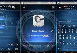 BBM Mod Thema Roline RAY Versi Terbaru 2.10.0.35 Terbaik
