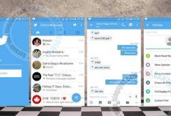 BBM2 Mod Thema Twitter New Version 2.10.0.31(Dual Clone)