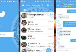 BBM Mod Twitter Versi Terbaru 2.11.0.16 With Fitur Like Seperti Facebook