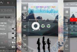 BBM Mod Chat Mie Thema Transparent Glass Terbaru V2.10.0.35