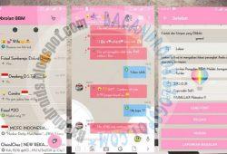 BBM Mod Tema Parallax Flatatisco II Versi 2.10.0.31 New