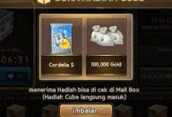 Cara Mendapatkan Kartu Cordelia dari Ancient Cube di LINE Let's Get Rich