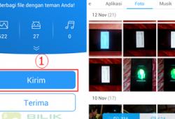 Cara Mengirim File dengan Cepat menggunakan Aplikasi SHAREit