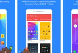 LINE Launcher 2.0.57 APK Gratis for Android
