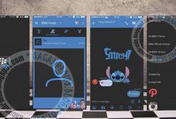BBM Mod Tema Dark Stitch Versi Terbaru 2.10.0.31 Apk