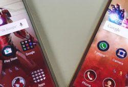 Foto-Foto Perbandingan Samsung Galaxy S6 Edge Biasa vs Iron Man Edition
